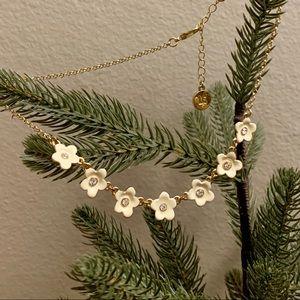 Liz Claiborne Flower Necklace